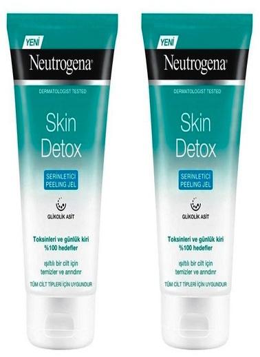 Neutrogena Neutrogena Skin Detox Serinletici Peeling Jel 150 ml x 2 Adet Renksiz